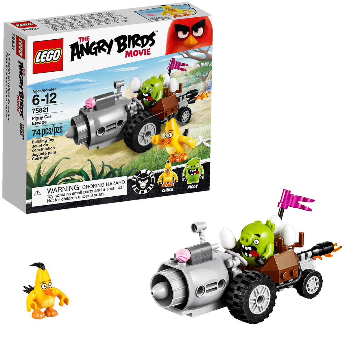Lego Angry Birds  2016 набор 75821
