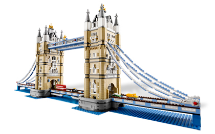 Lego 10214 Тауэрский мост Tower Bridge
