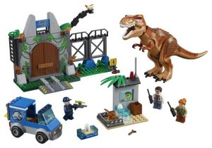 Lego 10758 Juniors Jurassic World Побег Ти-Рекса