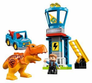Lego 10880 Duplo Jurassic World Башня Ти-Рекса