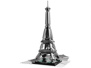 Lego 21019 Architecture EIFFEL TOWER Эйфелева башня