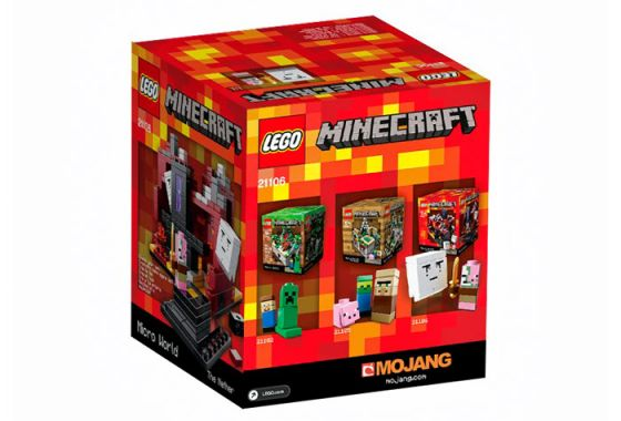 Lego 21106 Minecraft Micro World: The Nether