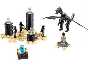 Lego 21117 Minecraft The Ender Dragon Дракон Края