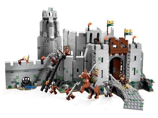 Lego 9474 Lord of the Rings Битва у Хельмовой Пади