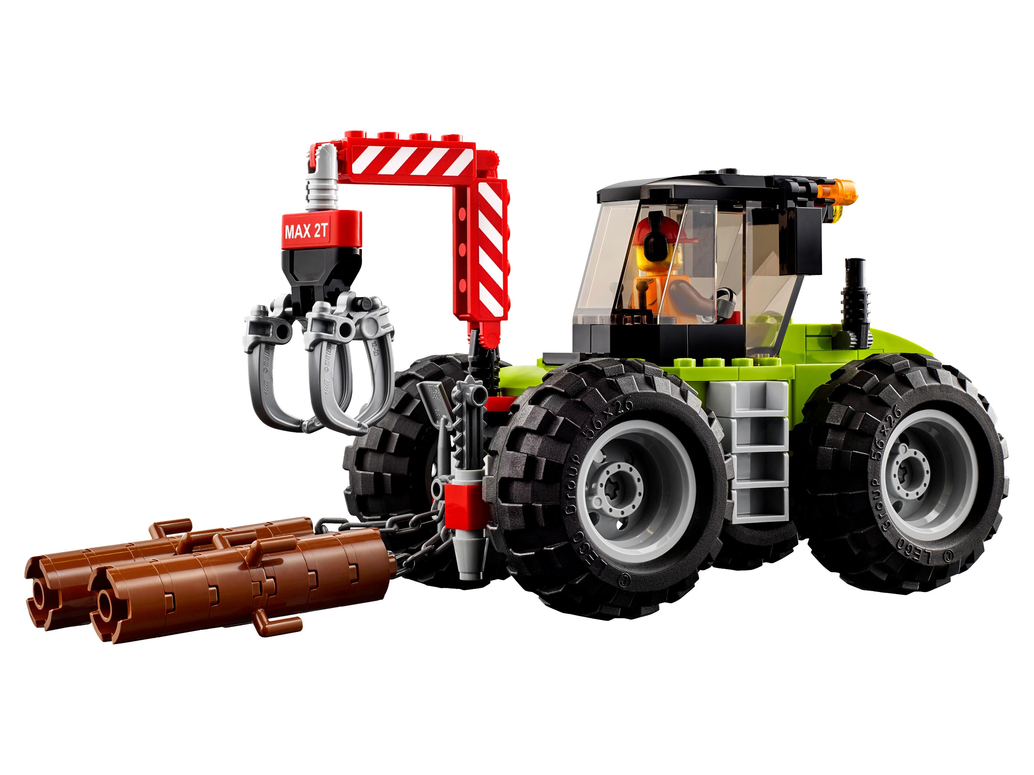 набор лего трактора интересно
