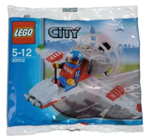 Lego 30012 City Аэроплан Mini Airplane