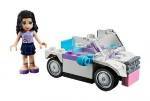 Lego 30103 Friends Автомобиль Эммы