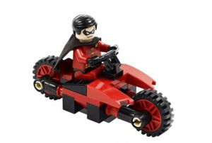 Lego 30166 Super Heroes Робин на Мотоцикле Robin and Redbird Cycle