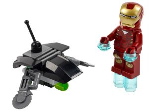 Lego 30167 Super Heroes Iron Man vs. Fighting Drone