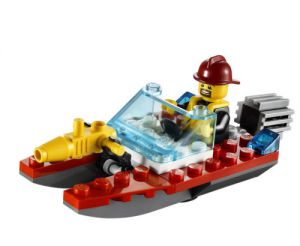 Lego 30220 City Пожарный Катер Fire Speedboat