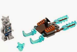 Lego 30266 Legends of Chima Sykor's Ice Cruiser