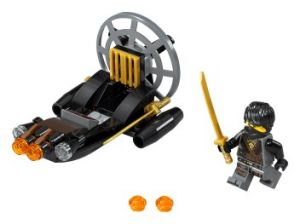 Lego 30426 NinjaGo Stealthy Swamp Airboat