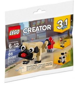 Lego 30542 Creator Cut Pug Dog