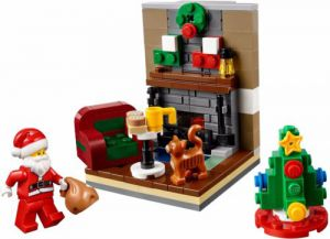 Lego 40125 Seasonal Holiday Santa's Visit