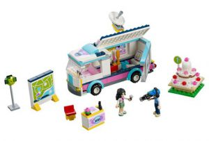 Lego 41056 Friends Фургон журналистов Хартлейк Сити