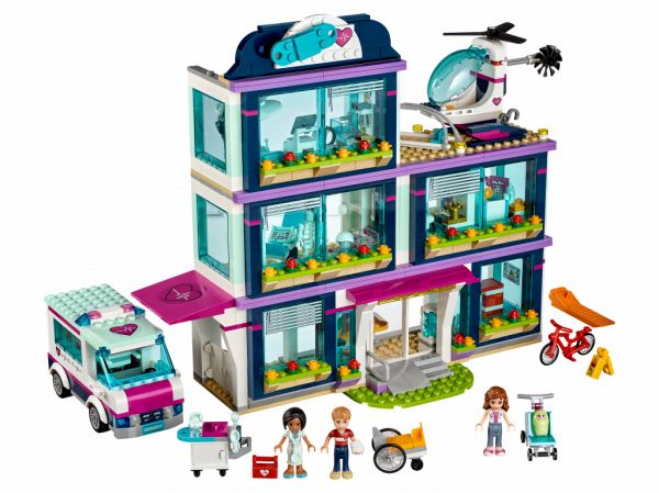 Lego 41318 Friends Клиника Хартлейк-Сити