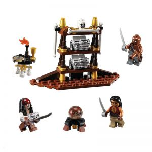 Lego 4191 Pirates of the Caribbean Каюта капитана