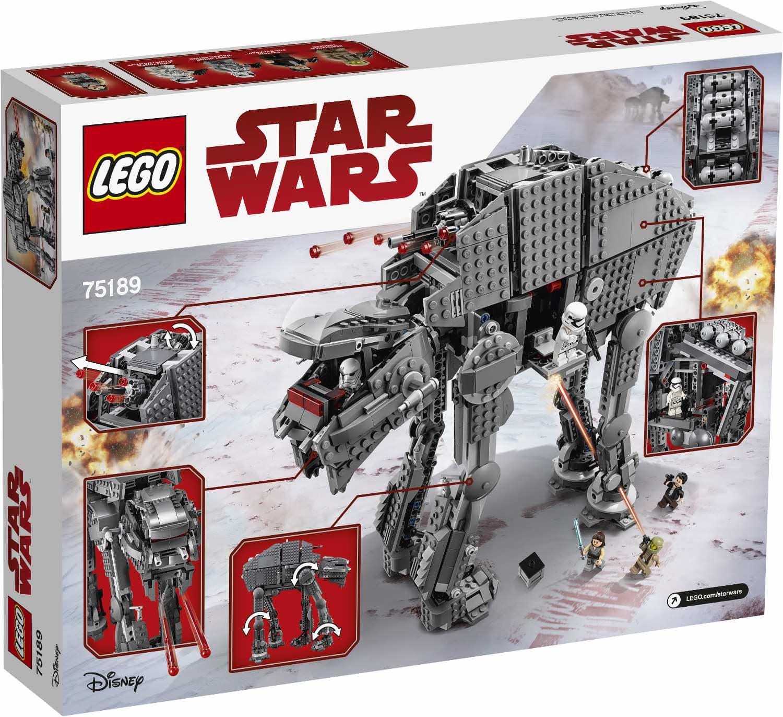 купить конструктор Lego 75189 Star Wars штурмовой шагоход