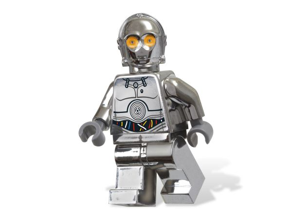 Lego 5000063 Star Wars TC-14 MINIFIGURE CHROME DROID 3PC