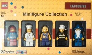 Lego 5002148 VINTAGE MINIFIGURE COLLECTION 2013 VOL. 3