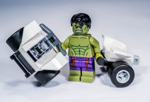 Lego 5003084 Super Heroes The Hulk