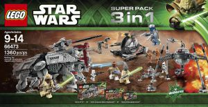 Lego 66473 Star Wars Super Pack Подарочный