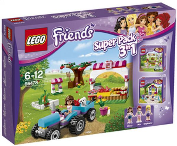 Lego 66478 Friends Super Pack 3 в 1
