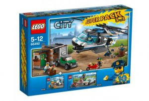 Lego 66492 City CITY POLICE VALUE PACK Супер упаковка 3 в 1