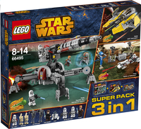 Lego 66495 Star Wars Value Pack 3 in 1