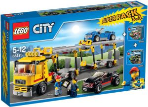 Lego 66523 City Super Pack 3 in 1
