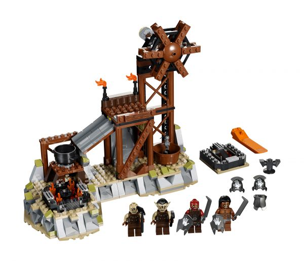 Lego 9476 Lord of the Rings Кузница Орков