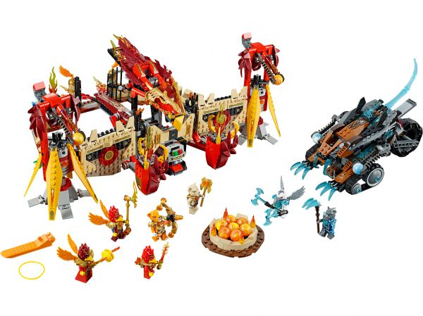 Lego 70146 Legends of Chima Огненный летающий Храм Фениксов