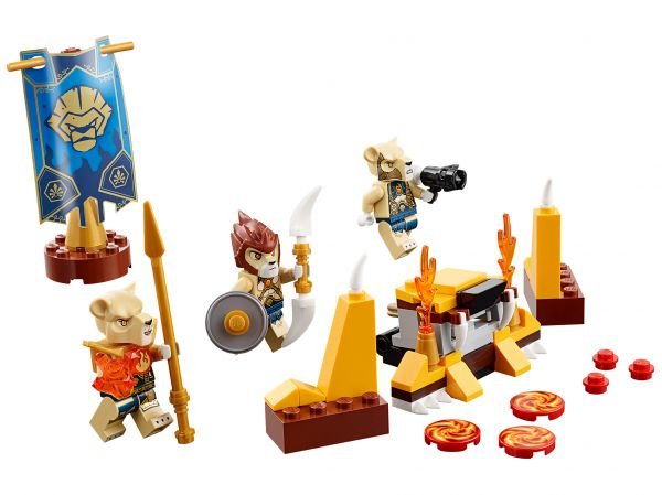 Lego 70229 Legends of Chima Лагерь клана Львов