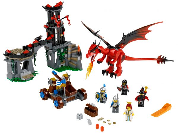 Lego 70403 Castle Драконья гора Dragon Mountain