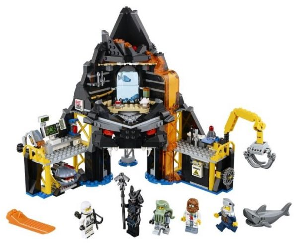 Lego 70631 Ninjago Movie Логово Гармадона в жерле вулкана
