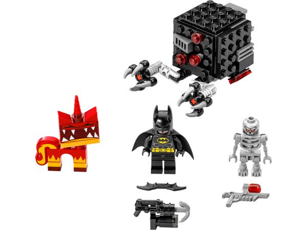 Lego 70817 Movie Атака Бетмена и Злой Кисы