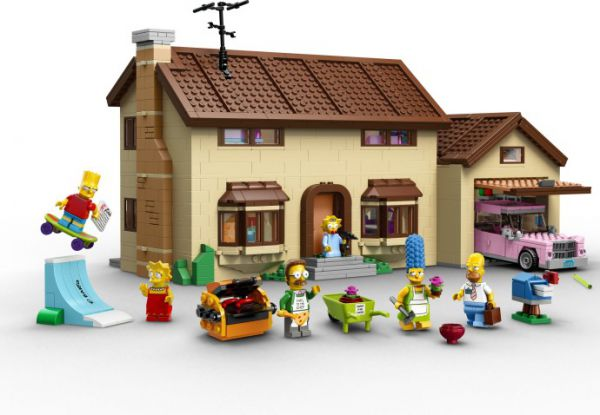 Lego 71006 The Simpsons Дом Симпсонов