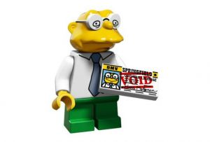 Lego 71009-10 Минифигурки, The Simpsons series 2 Ганс Молман