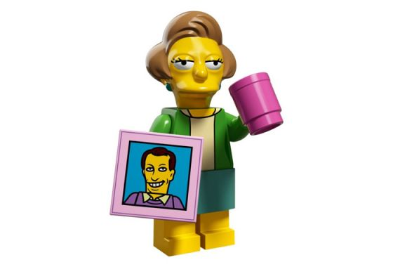Lego 71009-14 Минифигурки, The Simpsons series 2 Эдна Крабаппл