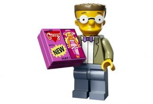 Lego 71009-15 Минифигурки, The Simpsons series 2 Вэйлон Смитерс