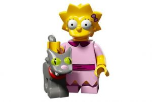 Lego 71009-3 Минифигурки, The Simpsons series 2 Лиза Симпсон