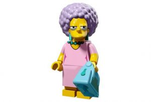 Lego 71009-12 Минифигурки, The Simpsons series 2 Пэтти Бувье