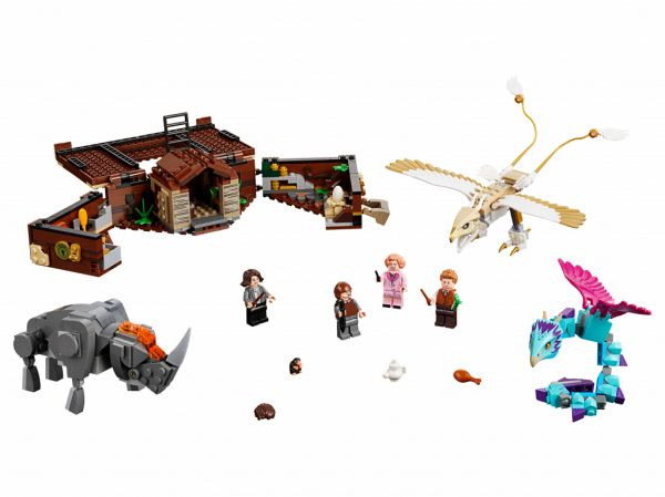 Lego 75952 Harry Potter Чемодан Ньюта Саламандера