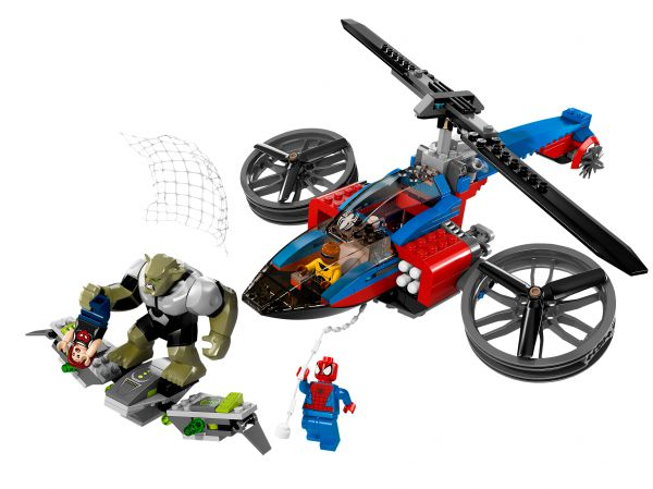 Lego 76016 Super Heroes Нападение Зеленого Гоблина Spider-Helicopter Rescue
