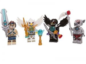 Lego 850779 Legends Of Chima Minifigure Accessory Set