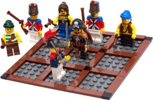 Lego 852750 Pirates II Tic Tac Toe