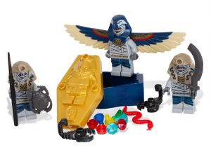 Lego 853176 Pharaoh's Quest Боевой Комплект Мумий Skeleton Mummy Battle Pack