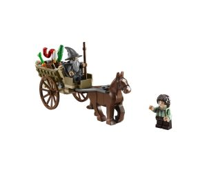 Lego 9469 Lord of the Rings Прибытие Гэндальфа