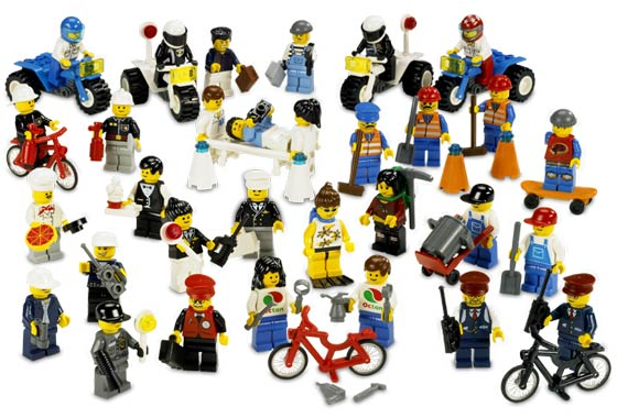 Lego 9247 Community Workers