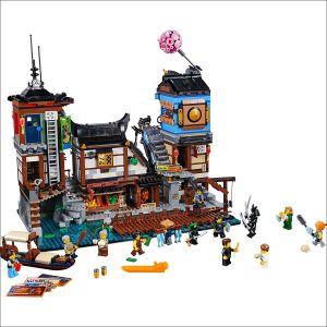 Lego 70657 Ninjago Movie Порт